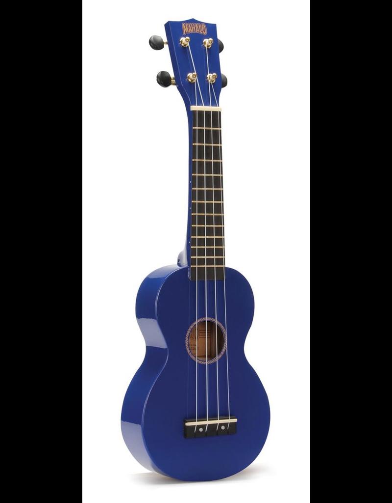 Mahalo Blue Soprano Ukulele