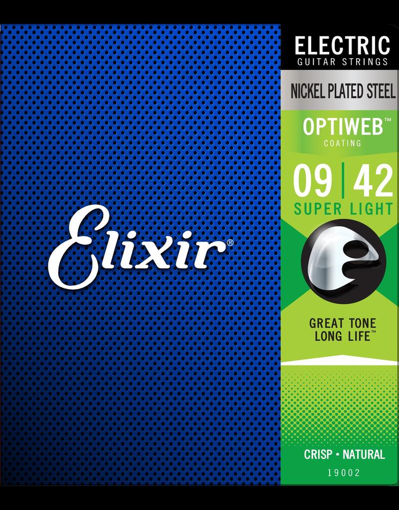 Elixir Electric Optiweb 9-42 Elixir 9-42
