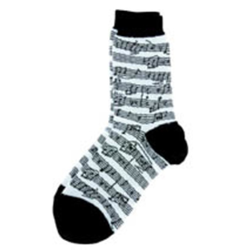 Ladies Socks Sheet Music Black and White