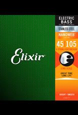 Elixir 45-105 Nanoweb Bass Medium Elixir 14077