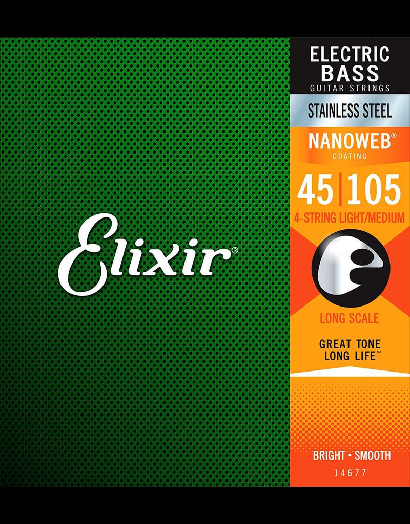 Elixir Elixir Bass Medium 45-105