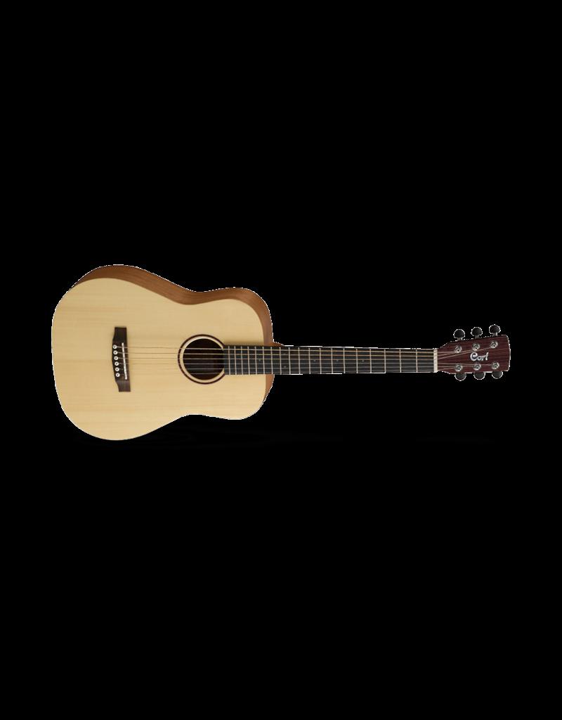 Cort Earth Mini Dreadnaught Guitar Open Pore