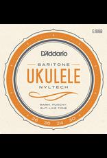 D'addario D'Addario EJ88B Nyltech Ukulele Strings, Baritone Uke