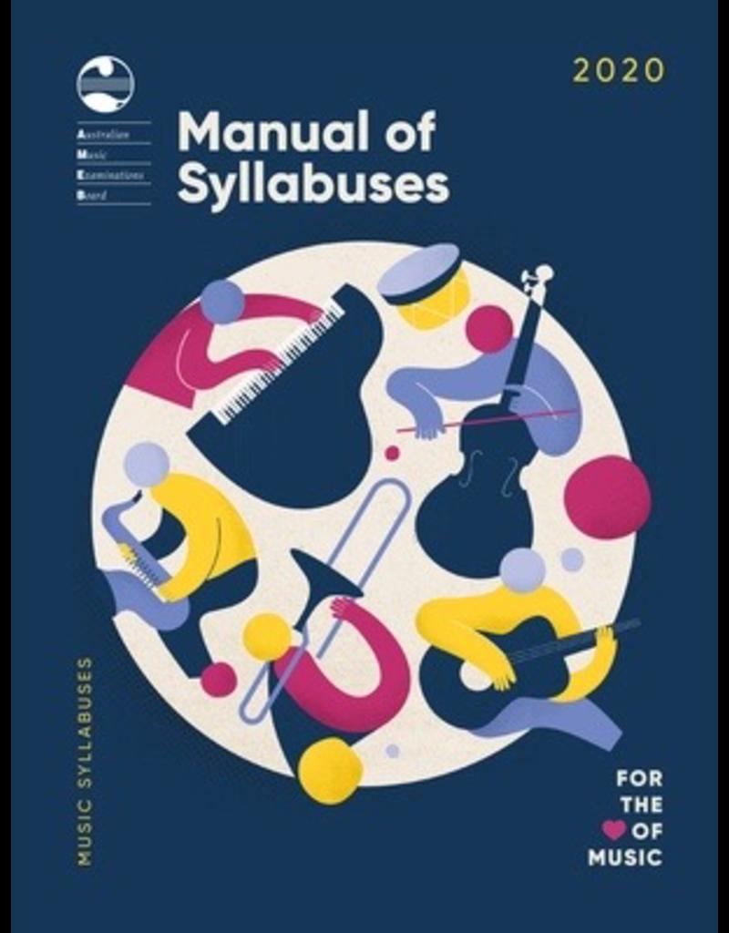 AMEB AMEB 2020 Manual of Syllabuses