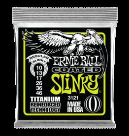 Ernie Ball 10-46 Coated  Titanium Regular Slinky