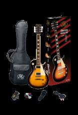 SX ESSEX PACKAGE - LP style VS Vintage Sunburst - Guitar Pack