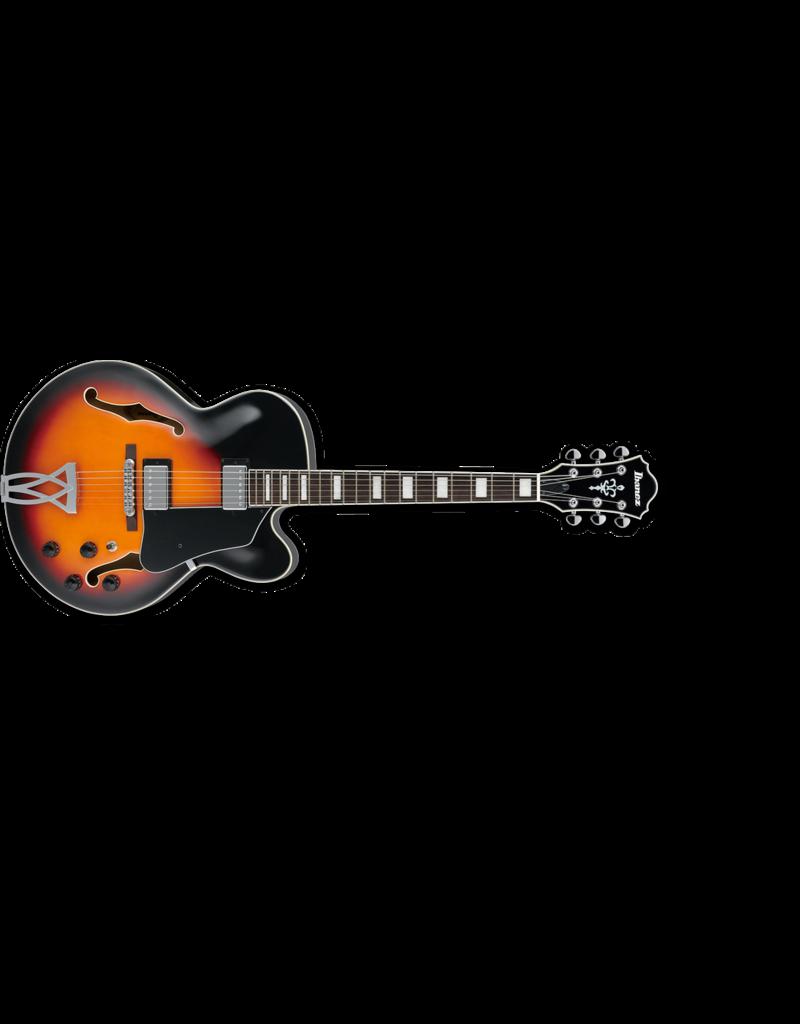 Ibanez AF75 Artcore Guitar Brown Sunburst