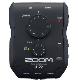 Zoom EARLY NOV20 - ZOOM U-22 HANDY AUDIO INTERFACE