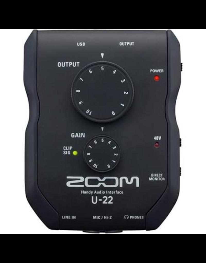 Zoom ZOOM U-22 HANDY AUDIO INTERFACE