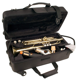 ProTec Rectangular Light Weight Trumpet Case. Also holds mutes