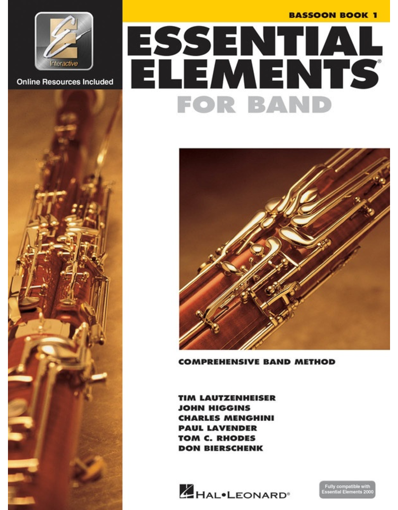 Essential Elements Bassoon Bk1 EE for Band Essential Elements BK1 Bassoon