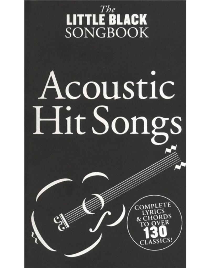 Little Black Books LBB Acoustic Hits Little Black Book