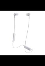 Audio Technica Bluetooth® Wireless In-Ear Headphones - WHITE
