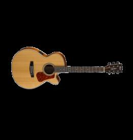 Cort L100F Concert Cutaway Guitar Satin Natural