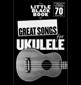 Little Black Books LBB of Great Songs for Ukulele