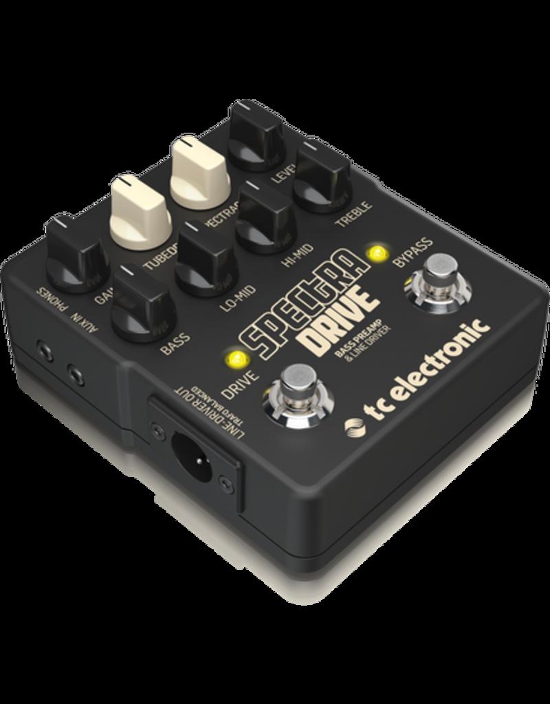 TC Electronics SPECTRADRIVE - Bass Guitar Pre-Amp, Drive and Compressor - DI