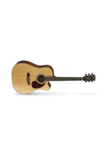 Cort MR710F Dreadnought Cutaway Guitar Mahogany Back & Sides Satin Natural Pickup
