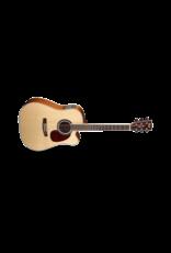 Cort MR730Fx Dreadnought Cutaway Guitar Gloss Natural