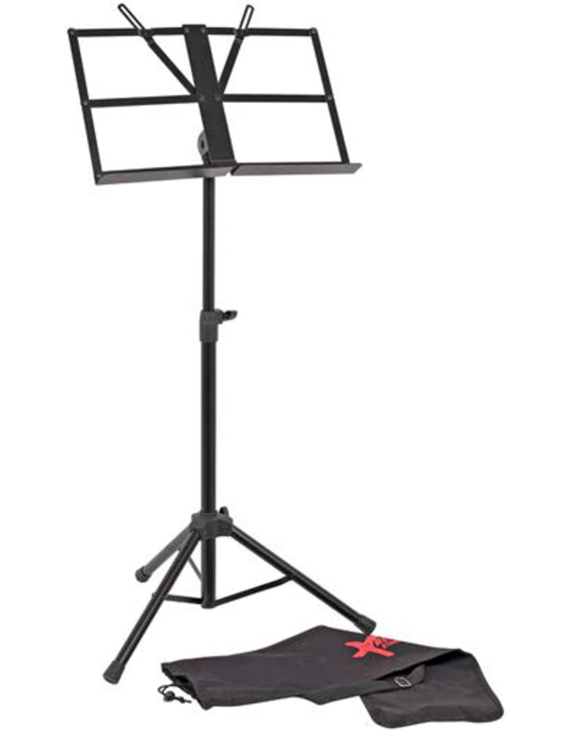 Xtreme Heavy duty pro black collapsable Music Stand