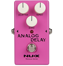 NUX Reissue Series Analog Delay Effects Pedal