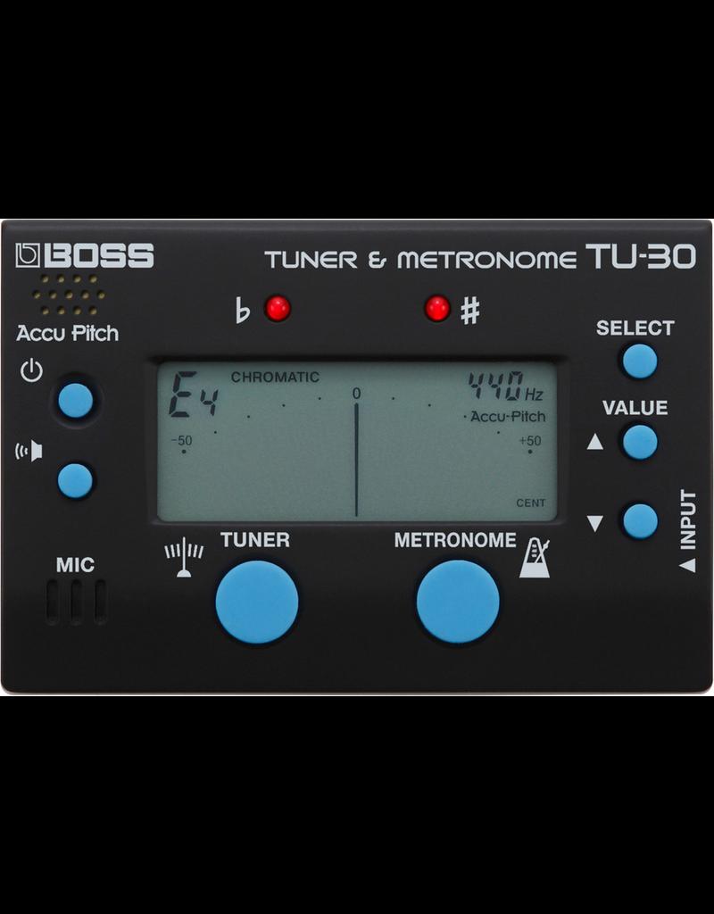 Boss TU-30 Tuner Metronome