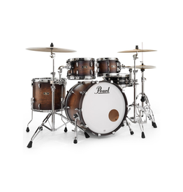 Pearl FW 22 4PC Shell Pack 10,12,16,22 Satin Cocoa Burst