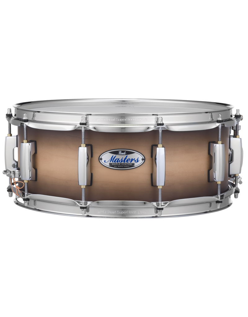 Pearl Masters Maple Complete MCT Snare 14 x 5.5 / Satin Natural Burst
