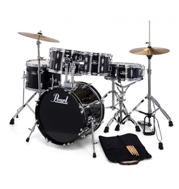 Pearl Roadshow Junior 5pc with Harware and Cymbals - 16 Bass, 8-10-13, 12 Snare