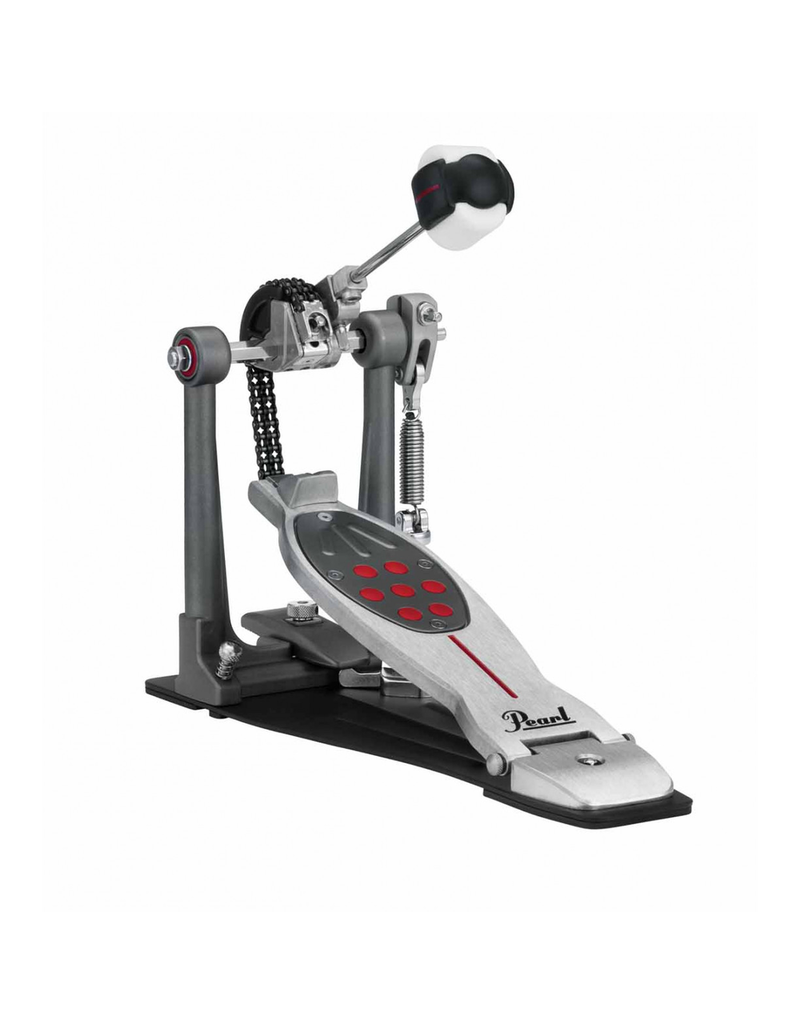 Pearl Eliminator Redline Chain Drive Interchangeable cams, NiNja Bearings, PowerShifter traction control footboard and Control Core QuadBeater. Includes case
