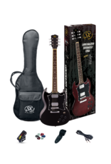 SX SG Pack Black with SX 1065 Amp - Guitar Pack