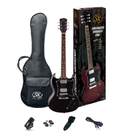 SX SG Black Pack with SX 1065 Amp - Guitar Pack