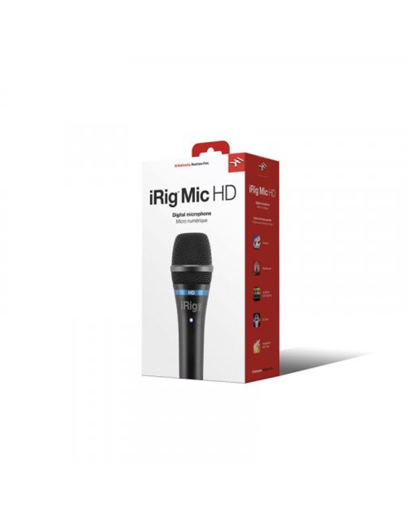 IK Multimedia iRig Mic HD for iOS and Computer