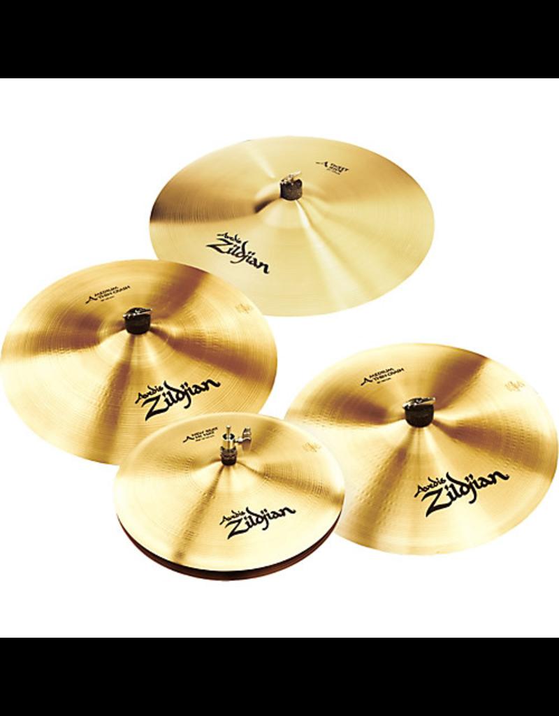 "Zildjian Zildjian AVEDIS Pack Includes 14"" New Beat Hihats, 16"" Medium Thin Crash, 18"" Medium Thin Crash, 21"" Sweet Ride"