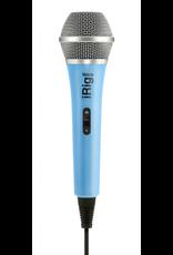 IK Multimedia iRig Handheld Mic Blue irig voice