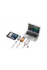 IK Multimedia iRig Mic Studio - Silver for iOS, Mac, PC, and Android