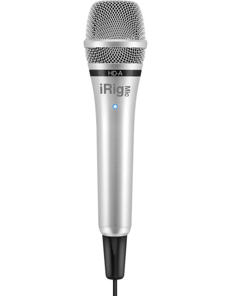 IK Multimedia iRig Mic HDA for Android and Computer