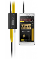 IK Multimedia iRig 2 Analogue Guitar interface for iPhone / Android smartphone