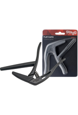 """Stagg Flat """"trigger"""" Capo Classical Guitar"""