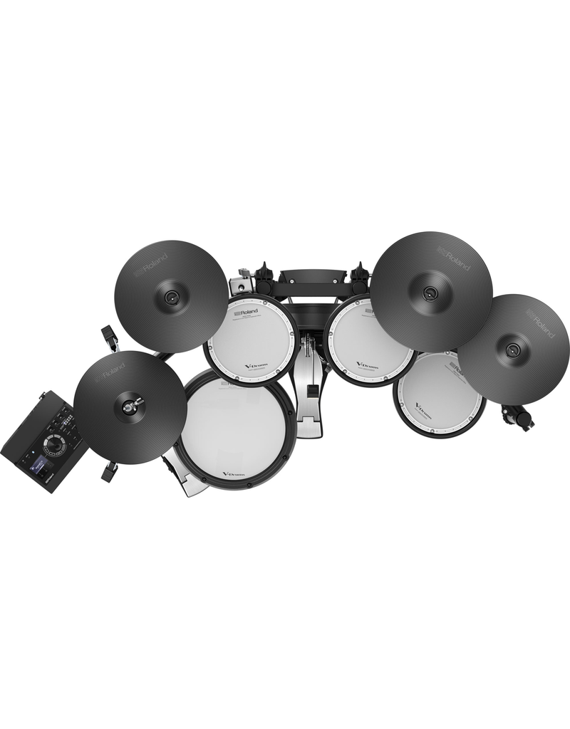 Roland TD17KVXS independant hat stand and extra crash, and MDSCOM stand