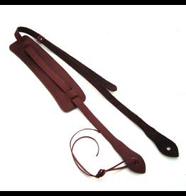 DSL Ukulele Strap Maroon Leather