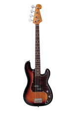 SX Vintage style bass Sunburst Traditional 60's style solid alder body. Maple neck with rosewood fingerboard.