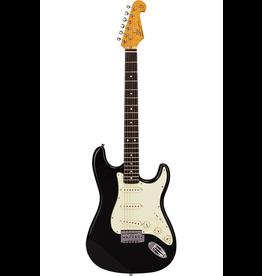 SX SX  4/4 bk Essex vintage style VES62B black guitar
