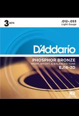 D'addario D'Addario Phosphor Bronze ALL GAUGES