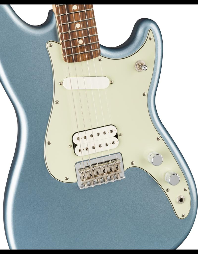 Fender Player Duo-Sonic HS, Pau Ferro Fingerboard, Ice Blue Metallic
