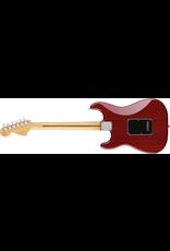 Fender Limited Edition Mahogany Blacktop Stratocaster, Crimson Red Transparent