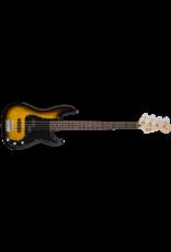 Squier Affinity Series Precision Bass PJ Pack, Laurel Fingerboard, Brown Sunburst, Gig Bag, Rumble 15 - 240V AU