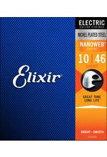 Elixir 10-46 Nanoweb Electric  Light Elixir 12052