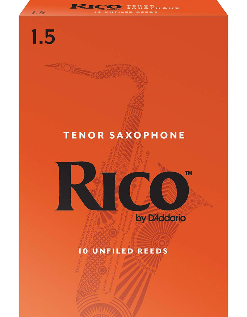 Rico Tenor Sax Reeds (10 Pack) 1.5 to 3.0