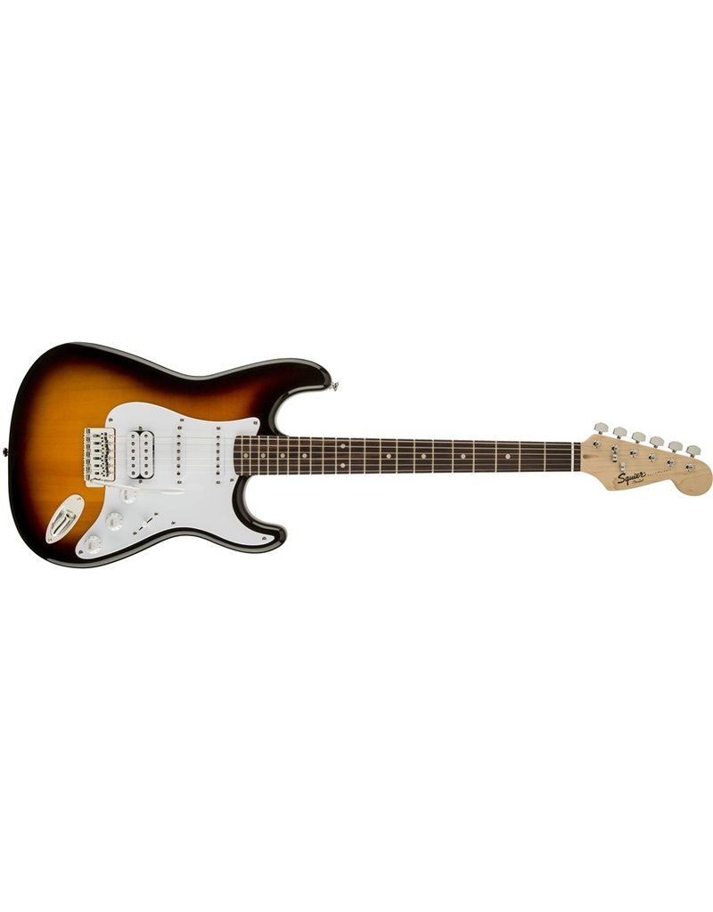 Squier Bullet Stratocaster HSS, Brown Sunburst