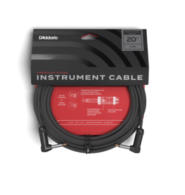 D'addario American Stage RRight 20ft Right Angled Gtr Cable